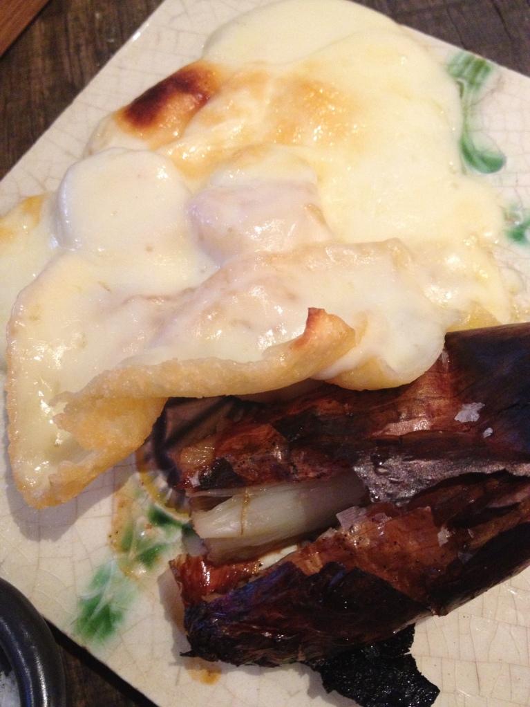Creamy crusty raclette